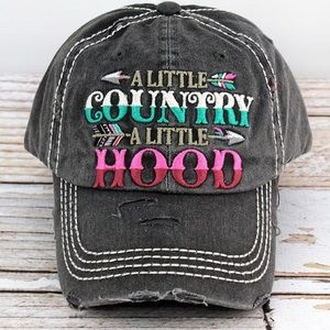 A little country, A little hood hats